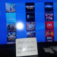 PS4 Slim 1TB isi full games offline tinggal maen