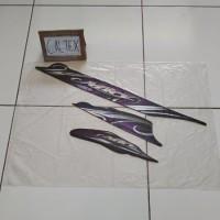 Striping Yamaha Mio Sporty 2010 2011 Hitam