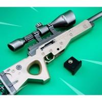 PUBG Battle Royale AWM Tie type Sniper Rifle Model Keychain Alloy