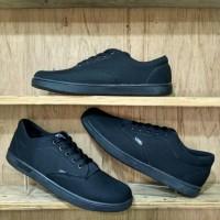 Sepatu Vans Era Authentic Hitam Polos | Sepatu Sekolah | Sepatu Kerja