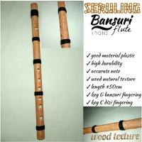 seruling bansuri suling India seruling bambu dizi suling plastik