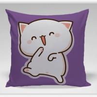 Bantal Sofa / Cushion - Cat Happy Walk