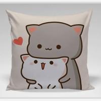 Bantal Sofa / Cushion - Cat Lovely