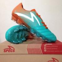 Sepatu Bola Specs Equinox FG Comfrey Green Orange 100795 Original BN