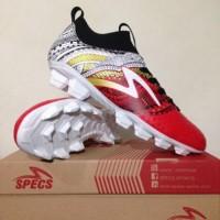 Sepatu Bola Specs Heritage FG Emperor Red 100796 Original BNIB