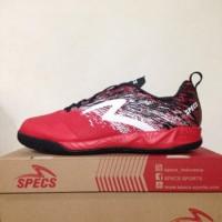 Sepatu Futsal Specs Metasala Warrior Premier Red Black 400779 Origin