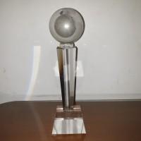 TR2259 Plakat kristal / Trophy Crystal kaca / Piala Golf / Piala Dunia