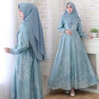 Baju Busana Muslim Wanita Gamis Syari Pesta Maxmara Kaunang Terbaru