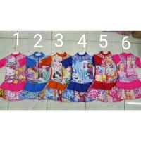 Baju Renang Anak TK 3/4thn Karakter Rok