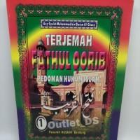 kitab / buku terjemah Fathul Qorib 1 set 2 buku