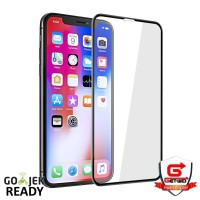 Tempered Glass iPhone XS Max Full Cover Screen Protector Anti Gores