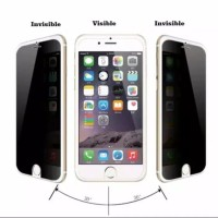 Iphone 4 4S 4G Tempered Glass Spy Anti Gores Kaca Gelap Hitam