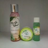 Paket 3 IN 1 Arasta Glow Facial Foam ,Toner, dan Cream Original