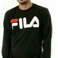 Baju Kaos Lengan Panjang / Longslev FILA BIG SIZE 3XL 4XL