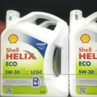 Oli Shell Helix Eco Asli 100% untuk mobil LCGC SAE 5W-30 Baru