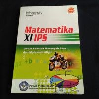 BUKU MATEMATIKA SMA KLS 2 IPS BSE