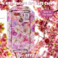 OPPO F9 Back Soft Case ARU Original Motif Bunga