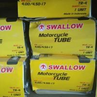 Ban dalam motor merk Swallow 400/450-17