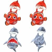 bikini renang bayi baju renang topi anak balita nemo shark