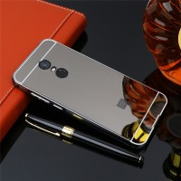 Xiaomi Redmi 5 Plus Case Plating Metal Frame with Mirror Back Cover Ha