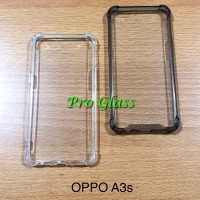 Oppo A3s Anticrack / Anti Crack / ACRYLIC Case Silicone Premium