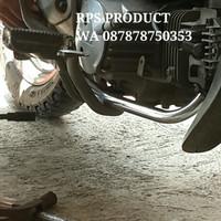 Leher knalpot universal original standar motor Supra X & Astrea Grand