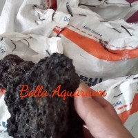 Batu Lava rock Lavarock Hiasan Aquarium Aquascape 1 KG