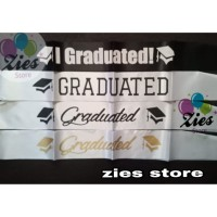 Sash graduation / selempang wisuda / selempang graduation