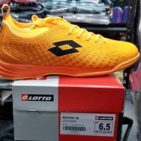 Sepatu Futsal Lotto Spark IN Orange