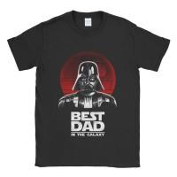 Baju Kaos Tshirt Star Wars Best Dad