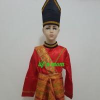 baju adat aceh anak laki tk dan sd tradisional