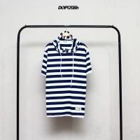 Baju Kaos hoodie - Hodie Kupluk - Premium Distro Motif Keren salur
