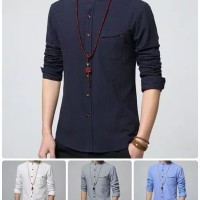 Model Baju Pria Terbaru 2019   Trend Fashion Pria Keren, Ukuran M/L XL
