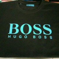 Tshirt Pria Kaos Super Big Size 6XL Hugo Boss Casual