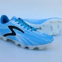 sepatu bola specs barricada ultra putih biru list hitam terlaris