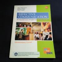 BUKU EFFECTIVE COMMUNICATION SMK KLS 2 BSE