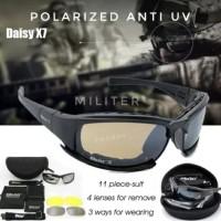 Kacamata Polarized Daisy X7 Sports Polaroid Militer Anti Silau UV