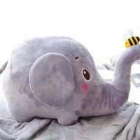 01 - Balmut elephant grey Balmut Gajah Boneka Gajah