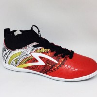 Ready Sepatu Futsal Specs Original Heritage In Emperor Red/Black/ Gold
