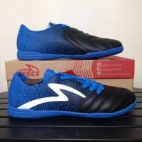 Ready Sepatu Futsal Specs Equinox Black Tulip Blue 400772 Original