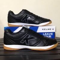 Ready Sepatu Futsal Kelme K-Strong Black Negro 55787 Original Bnib