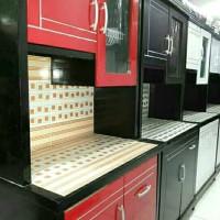 lemari sayur 2pintu. lemari makan . lemari piring. kitchen set