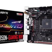 Gigabyte GA-AB350N-Gaming Wifi (AM4, AMD Promontory B350, DDR4, USB3.1