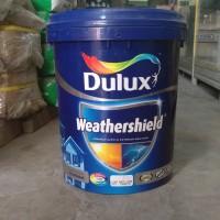 Cat tembok Dulux weathershield 20 liter brilliant white