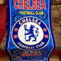 Real Pict Handuk Club Bola/FC Chelsea Club ukuran besar 72x143