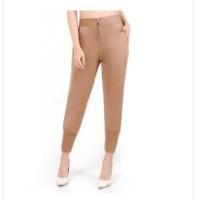 mc fashion celana panjang wanita dewasa variasi sleting - Aquilla