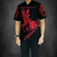 Baju Batik Pria Kemeja Lengan Pendek