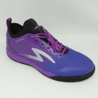 Sepatu futsal specs original Metasala Musketeer deep purple new8