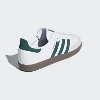Sepatu Adidas Samba OG Putih Hijau / Putih Biru