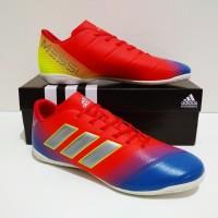 SEPATU FUTSAL Adidas NEMEZIZ IC New Grade Ori (Red Blue White)